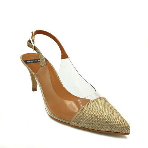 Zapato tipo salon descubierto de...