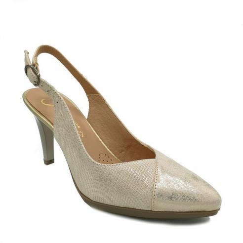 Zapato tacon alto mujer descubierto...