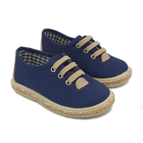 Zapato infantil cordones VUL-PEQUES...