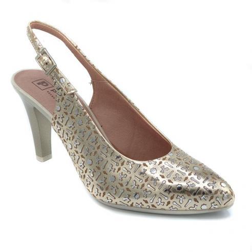 Zapato estilo salón descubierto...