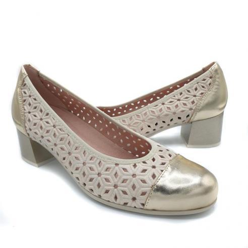 Zapato mujer PITILLOS estilo salón en...
