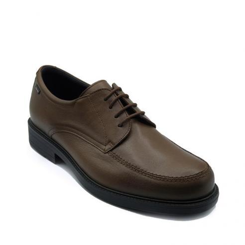 Zapato hombre cordón bordón piel...