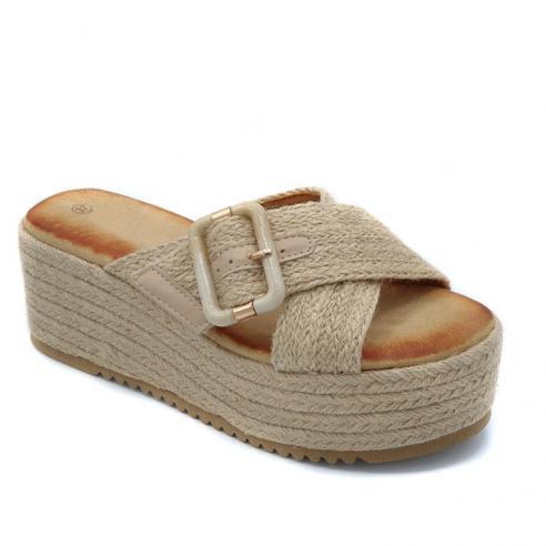 Sandalia moda plataforma mujer toda...
