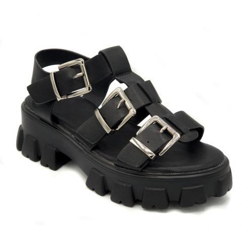 "Sandalia tipo ""romana"" super moda en..."