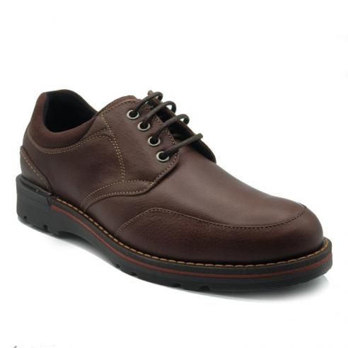 Zapato de hombre cordón en piel...