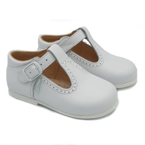 """Zapato PIEL ANGELITOS tipo """"Pepito""""..."""