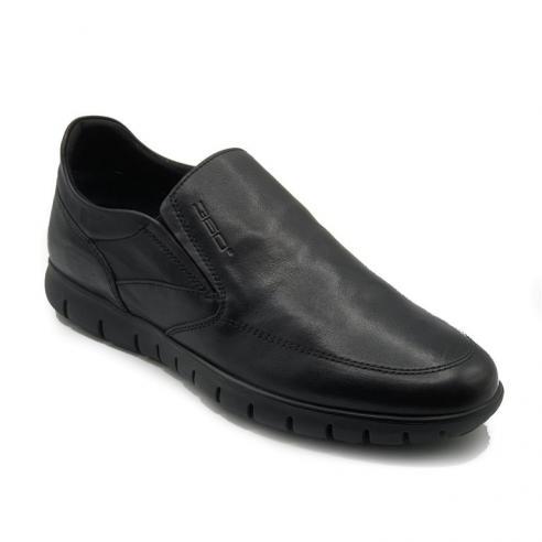 Zapato mocasin hombre en piel color...