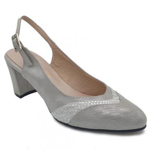Zapato salón tacón medio ZANY en...
