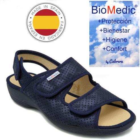 Zapatilla de verano BIOMEDIC azul en...