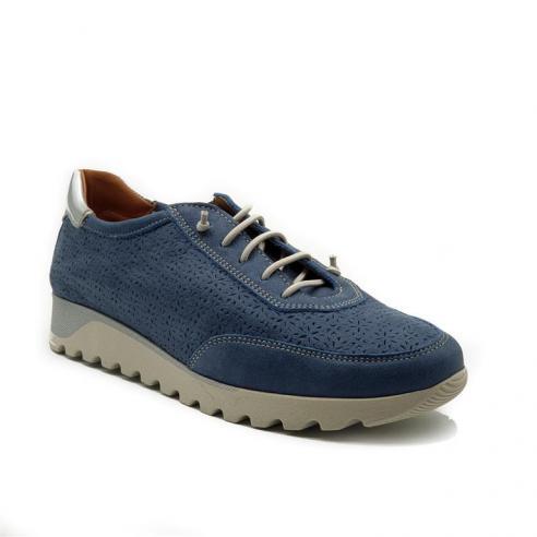 Zapato casual con cordon elastico...