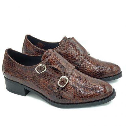 """Zapato mujer PIEL tipo """"Oxford"""" dos..."""