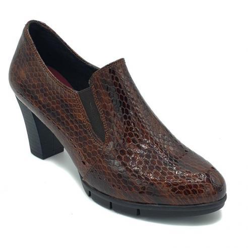 Zapato tacón mujer PIEL fantasia...